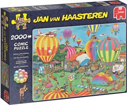 Jumbo Jan van Haasteren puzzel Het Ballon Festival - 2000 stukjes