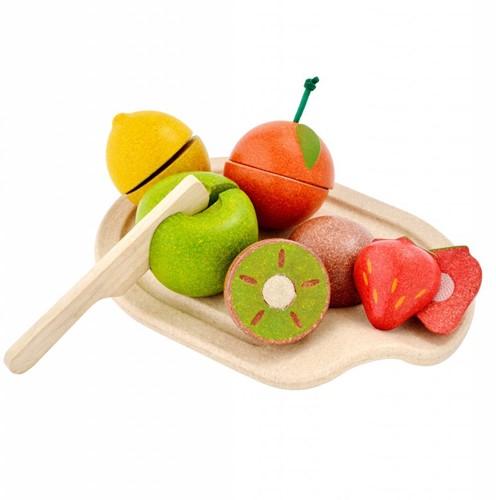 Plan Toys houten fruit assortiment