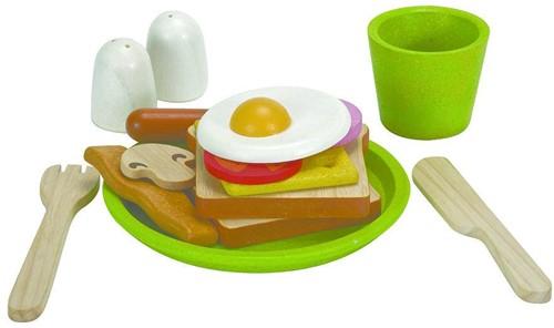 Plan Toys  houten keuken accessoires Ontbijt