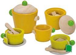 Plan Toys  houten keuken accessoires Thee set