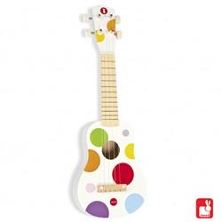 Janod  Confetti houten muziekinstrument Ukelele
