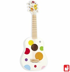 Janod  Confetti houten muziekinstrument Gitaar klein