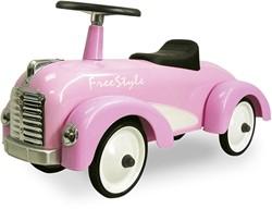 Retro Roller loopauto Speedster roze Jessica