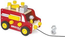 Janod Bricolo - redmaster trekfiguur vrachtwagen