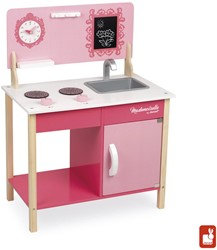 Janod houten keukentje Mini Cooker Mademoiselle