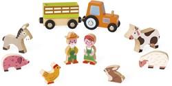 Janod - Speelwereld - Story Mini boerderij