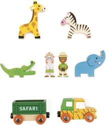 Janod - Speelwereld - Story Mini safari