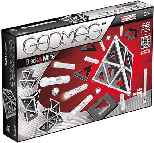 Geomag Panels Black&White 68 delig