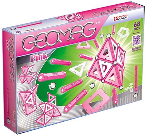 Geomag Panels Pink 68 delig