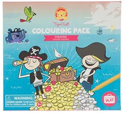Tiger Tribe Colouring Pack - Pirates