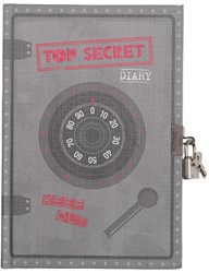 Tiger Tribe My Diary - Top Secret
