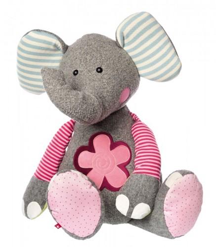 sigikid XXL olifant, Patchwork Sweety