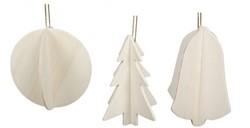 Beleduc  houten knutselspullen Kersthanger 3D set