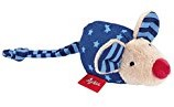 sigikid Rammelaar muis blauw, Red Stars