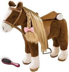 Götz accessoires Combing Horse, brown beauty, 52 cm