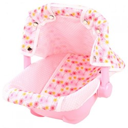 Götz accessoires Baby carriage, spotted pink
