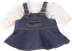 Götz accessoires Combination baby dolls, denim groove, 2-pcs. - maat S