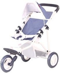 Götz accessoires 3-wheel buggy, spotty blue