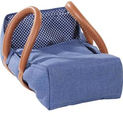 Götz accessoires Baby carrier bag, denim, up to 42 cm