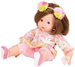 Götz babypop Maxy Muffin, daisy do, brown hair - maat M