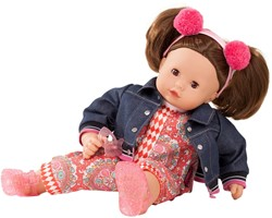 Götz babypop Maxy-Muffin, vintage, brown hair - maat M