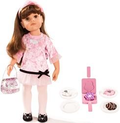 Götz stapop Hannah Happy Birthday, brown hair, 16-pcs. - maat XL