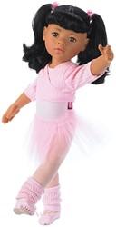Götz stapop Hannah at the ballet, asian, black hair, 15-pcs. - maat XL