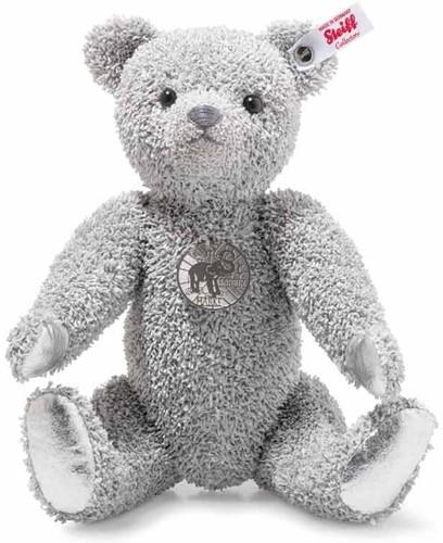 Steiff limited edition Platinum Paper Teddy bear, platinum grey - 30cm