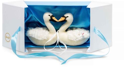 Steiff limited edition zwanenset bruiloft 13 cm