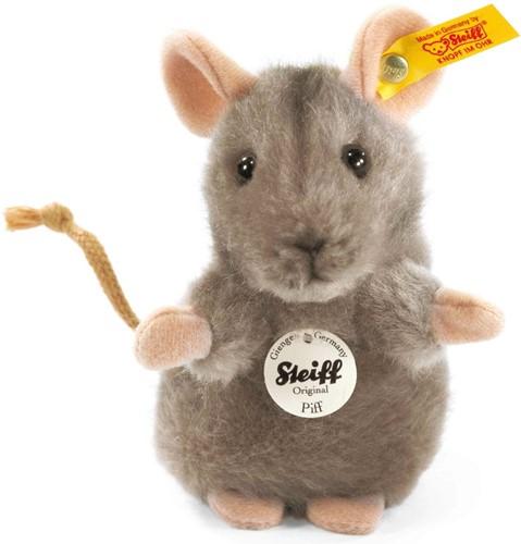 Steiff Piff mouse, grey - 10cm