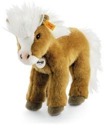 Steiff knuffel Fanny pony, brown 30 CM