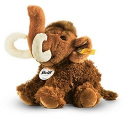 Steiff - knuffels - Manni mammoth, brown