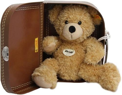 Steiff Teddybeer Fynn in koffer