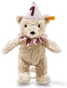 Steiff Eerste verjaardag Teddybeer meisje speelklok