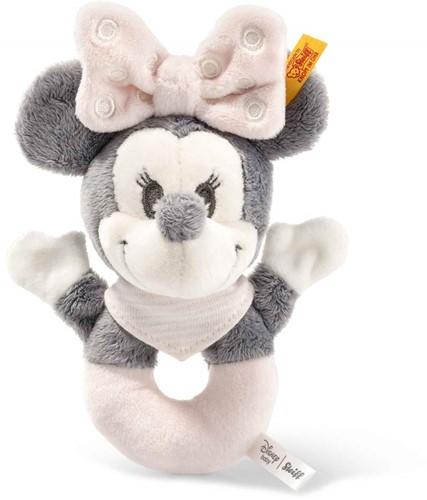 Steiff Minnie Mouse grijpring met rammelaar