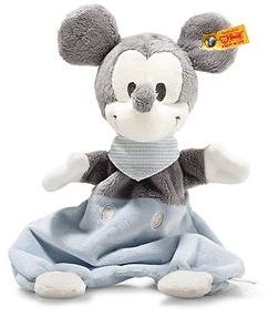 Steiff Disney Mickey Mouse knuffeldoek met knisperfolie
