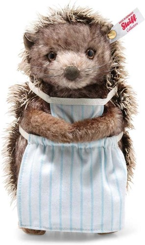 Steiff limited edition Mrs Tiggy Winkle, brown tipped - 22cm