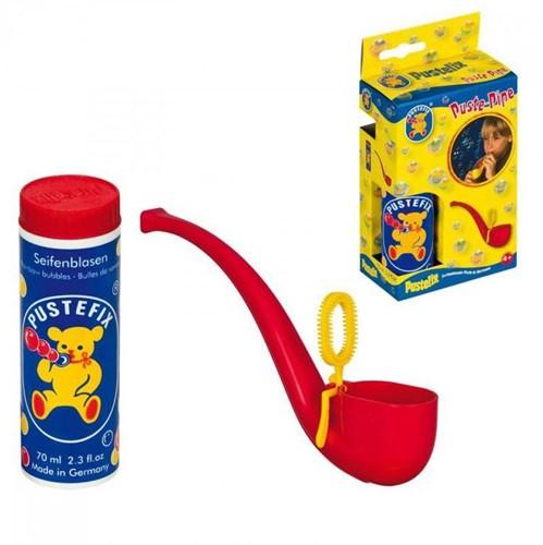 PustefixBellenblaas:PIJP,met70mlPustefixvloeistof,rood en geel gemengd, 4+