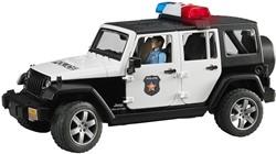 Bruder  - Politie Jeep met politieagent ( blanke huidskleur )en access