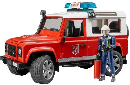 Bruder Land Rover Defender Stationwagen - Brandweer - 2596
