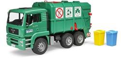 Bruder MAN TGA Vuilniswagen groen