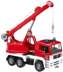 Bruder  - MAN Fire engine crane truck with Light and Sound Module