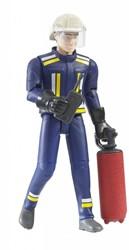 Bruder  - Bworld brandweerman met accessoires