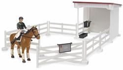 Bruder  - Kleine paardenstal met div accessoires