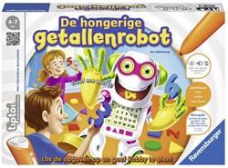 Ravensburger  Tiptoi educatief spel De hongerige getallenrobot
