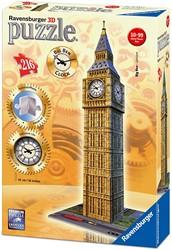 Ravensburger Big Ben met klok- 3D puzzel gebouw - 216 stukjes