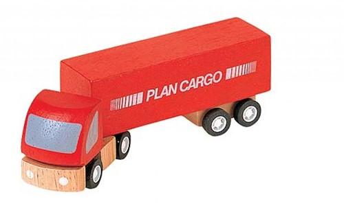 Plan Toys Plan City houten auto Vrachtwagen