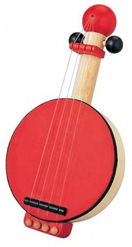 Plan Toys houten muziekinstrument banjo