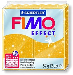 Fimo  effect klei metallic goud