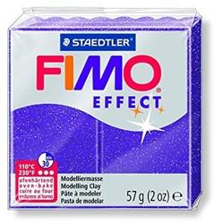 Fimo  effect klei metallic lila